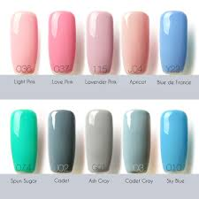 focallure lasting bright colorful led 32 colors uv gel manicure