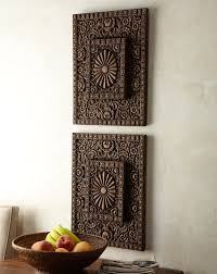 home design metal wood arch wall panel antique vintage rustic