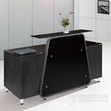 podium style reception desk black fashion office reception desk reception desk reception bar