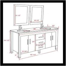 Vessel Sink Cabinet Height Amazon Com 62 Inch Espresso Solid Wood Double Bathroom Vanity Set