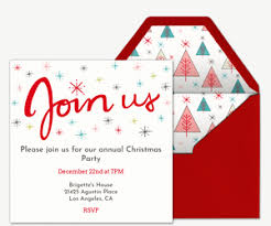 christmas party invitations party invitations evite