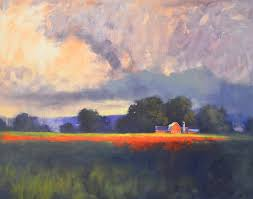 steps to create a huge landscape painting