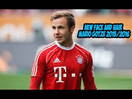 Mario Gotze Hairstyle New Face And Hair Mario Gotze 2015 2016 Pes 2013 Youtube