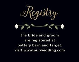 wedding registry cards customizable wedding registry cards by basic invite