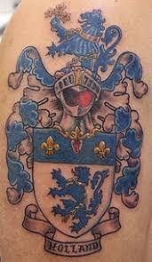scottish family crest tattoos celtic heraldry tattoos