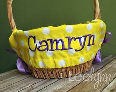personalized easter basket liners how to make a basket liner basket liners craft and church