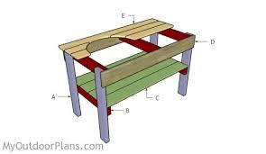 Big Green Egg Table Dimensions Large Big Green Egg Plans Myoutdoorplans Free Woodworking