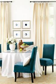 Dining Room Curtain Panels by What U0027s The Best Way To Hang Your Drapery How To Decorate