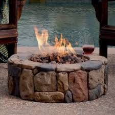 Gas Fire Pit Logs by Wilderness Charred Outdoor Gas Fire Pit Logs 30