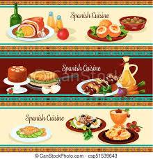 cuisine dinner cuisine dinner restaurant set eps vector