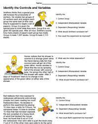 scientific method and the simpsons