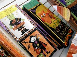 Halloween Fabric Panels by A Few Photos Country Sampler Quilts