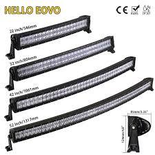 52 inch led light bar cover hello eovo 5d 22 32 42 52 inch curved led light bar led bar work