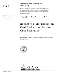 tactical aircraft impact of f 22 production cost reduction plans