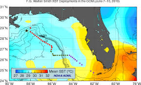 temperature map florida physical oceanography division monitoring the gulf of mexico