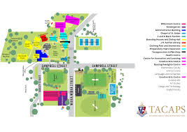 campus map tacaps toowoomba anglican college and preparatory
