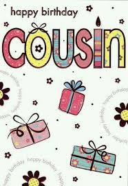 cousin birthday card best 25 happy birthday cousin ideas on
