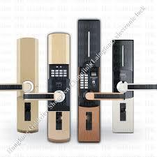 Bedroom Door Locks With Key Zinc Alloy Hotel Magnetic Card Door Lock With Mechanical Key Card