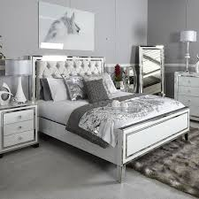 White King Size Bed Frame White Mirrored King Size Bed Frame Picture Home