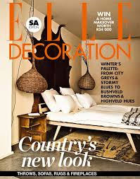 Home Decor Magazines South Africa Le Creuset 15 Discount Offer In Elle Decoration
