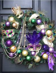 mardi gras wreath pinspiring wreaths mardi gras