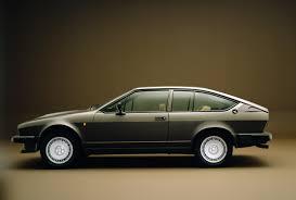hatchback cars 1980s hatch heaven alfa romeo alfetta gtv6 2 5i 1980