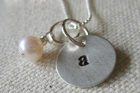Initial Necklaces For Moms Initial Necklace For Mom Personalized Mommy Necklace How To