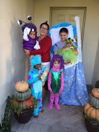 Sully Monsters Halloween Costume Monsters Family Costume Costumes