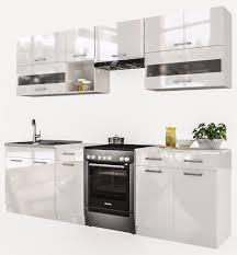 sconto küche kuchenzeile mit hochbackofen retro cm tief spulmaschine