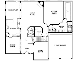 Five Bedroom House Floor Plans  Bedroom Ranch House Plans - 5 bedroom house floor plans