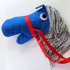 no sew stick horse fun family crafts