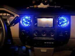 led home interior lights showy larger version added led light strips inside ac ford