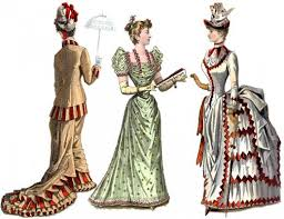 of the dresses women s fashions of the era from hoop skirts to bustles
