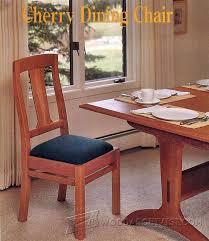 cherry dining chair plans u2022 woodarchivist