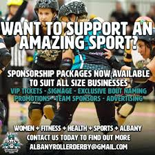 Roller Derby Meme - sponsorship albany roller derby league