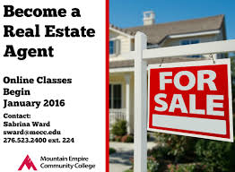 mecc offering online real estate certification class mountain