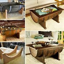 Wine Barrel Patio Table Wonderful Diy Outdoor Sink From Wine Barrel