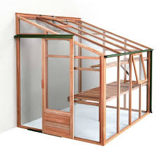 Palram Lean To Greenhouse Growhouse 6ft X 8ft Lean To Greenhouse Wood Frame Toughened Glass