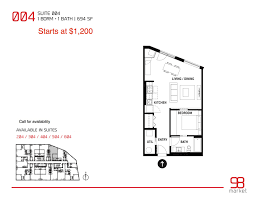 floor plans 98 market avenue apartments