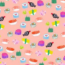 creepy kawaii background food pattern wallpaper mkr7rxtibg1r23cino1 1280