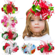 hair accessories for kids headband bow band hair accessories kids girl christmas baby