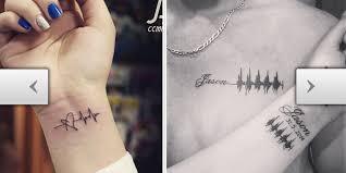 tattoos com adorable heartbeat tattoo ideas