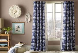 Grommet Drapes Viv Rae Hector Wildlife Semi Sheer Grommet Curtain Panels