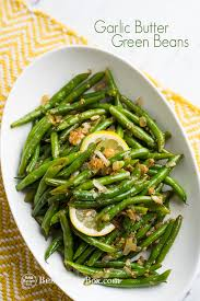 best garlic butter green beans