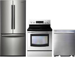Kitchen Appliances Packages - kitchen samsung sambs5fd1 4 piece appliances package with
