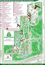 Dallas Ft Worth Map by Botanic Garden Map U2014 Fort Worth Botanic Garden