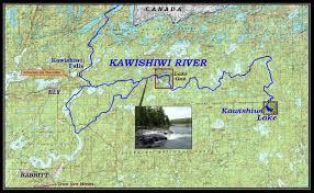 Boundary Waters Map Kawishiwi River