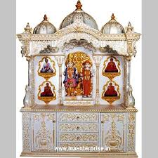 pooja mandir wooden temple for home decoration from india m a