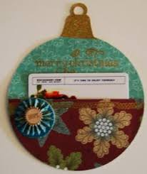 tree ornament gift card holder allfreepapercrafts