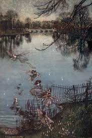 arthur rackham the serpentine is a lovely lake peter pan in